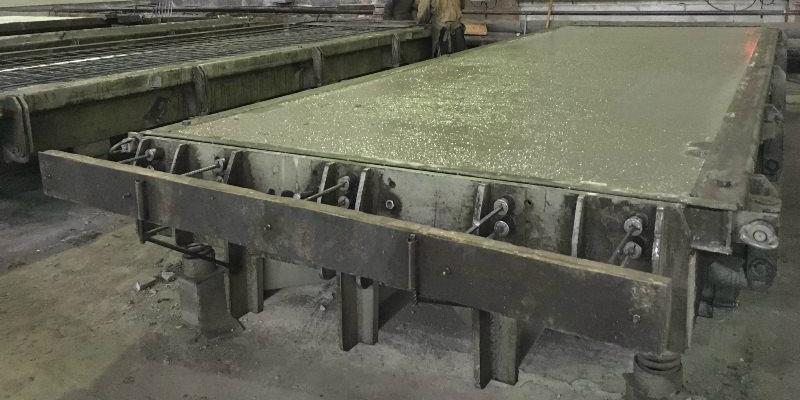 формовка бетонной смеси